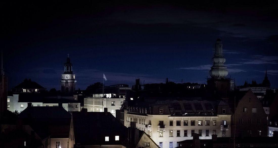 Nightly city shots Streetphotography Stockholm Night Lights Traveling