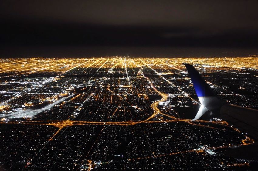 Illuminated Night Sky Cityscape View From Above View From Airplane Chicago Chicago Architecture Chicago At Night Airplane Wing Airplaneview Night Flight Flying At Night Adventure Red Eye Late Flight Business Travel Glowing Tired RESOLUTE Fly Dark Glow Skyline At Night