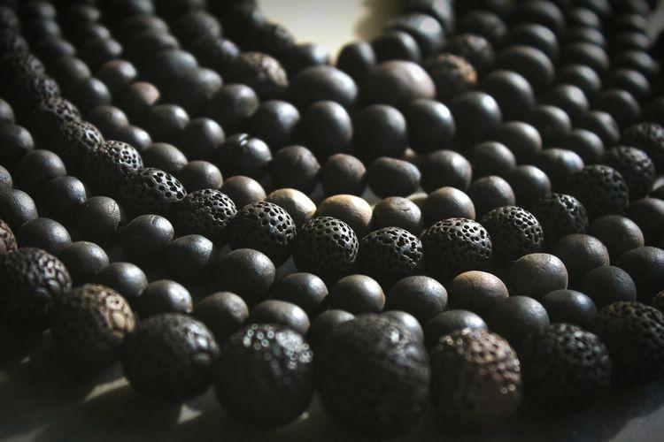 Full Frame Shot Of Beads