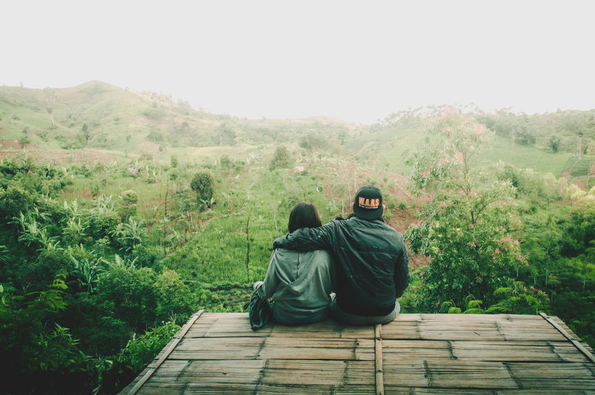 Two Is Better Than One Sound Of Life Love A Bird's Eye View Landscape Landscapes Nature Mountain Outdoors People Couple