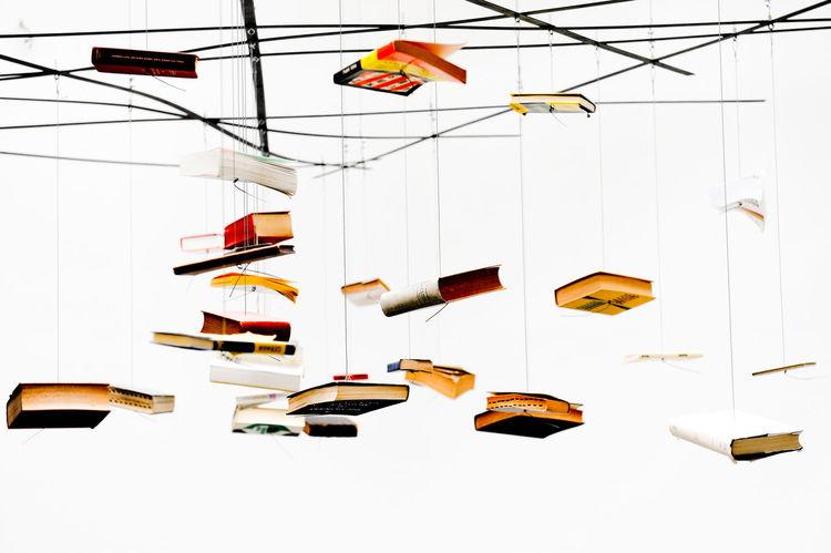 Art ArtWork Books Composition Hanging Hanging Indoors  Instalation Simplicity Still Life