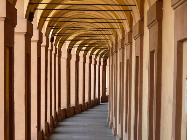 Arches in Bologna, Italy Ancient Arches Architectural Column Architecture Bologna Bologna, Italy Built Structure Column Corridor Covered Portico Day Diminishing Perspective In A Row Italy Monastry No People Old Orange Color Pórtico Religion Repetition Sanctuary Of The Madonna Of San Luca Stone Terracotta Feel The Journey