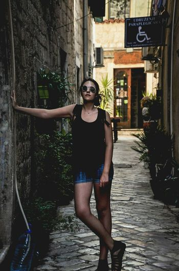 Budva,Montenegro Nature Travelling Montenegro Summer Day Beauty Montenegro Wild Beauty Young Women Young Adult Vacations Old Alley