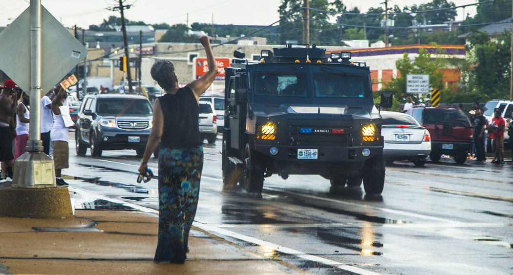 Armoured Vehicles Daddynewt Ferguson Incidental People Police Protest Riot Street Urban