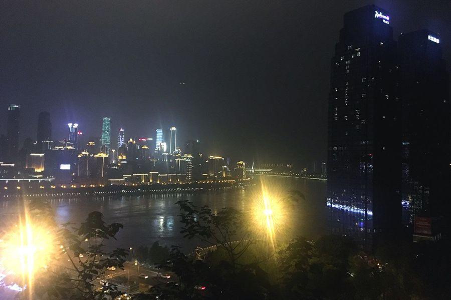 长江 夜 City