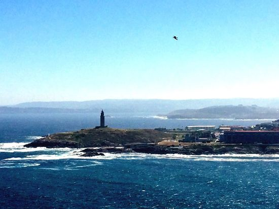 Towerofhercules TorreDeHercules Lighthouse Faro Architecture Built Structure Sea Sea And Sky Acoruña Galicia Galicia Calidade