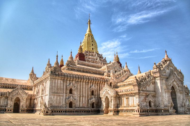 Bagan Temples #4 Architecture Tourism Travel History Travel Destinations Sky