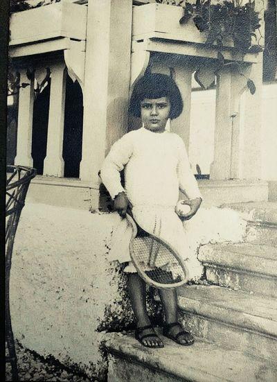 Little Giant... Vintage Children Transmedia Storytelling Socialflotribute Littleboy Playing Tennis Vintage Photo 📷 Vintage Style