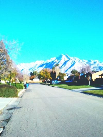 snow dusted Wasatch mountains. Learn & Shoot: Simplicity