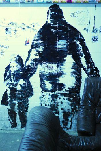Learn & Shoot: Leading LinesRePicture MotherhoodTaking PhotosBlack & White Atention! Graffiti Art Wall Art Art, Drawing, Creativity Schwerte Rattenloch Canon550D 50mm F1.8 Nightlife Fotography Eyemphotography Urbanphotography Streetart 2016 Wall Painting Tags & Bombs Club Trashart