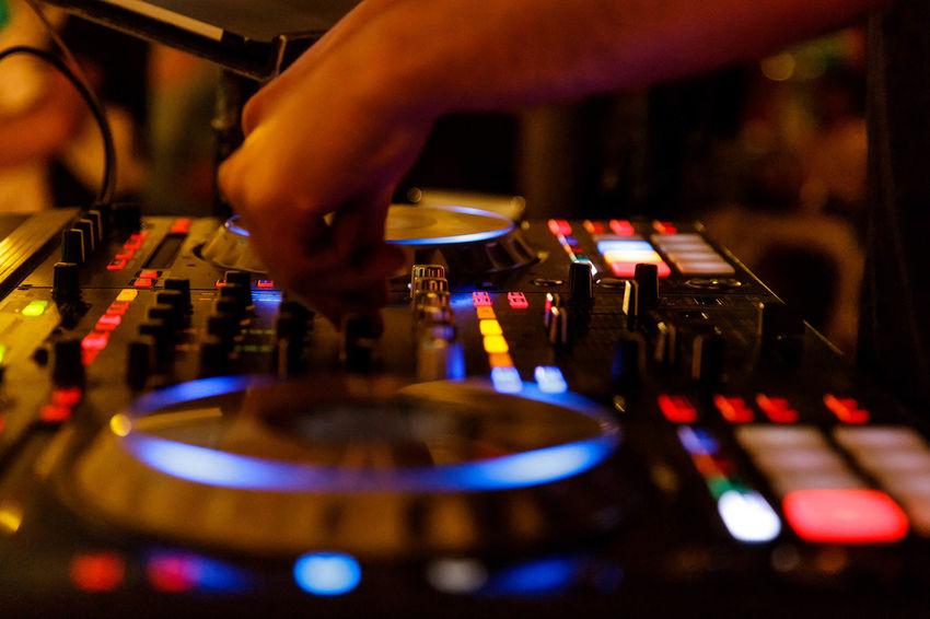 Audio Equipment Dj Pioneer Sound Desk Arts Culture And Entertainment Audio Equipment Mixer Audio Mixer Desk Music Night Nightlife Sound Mixer Sound Recording Equipment