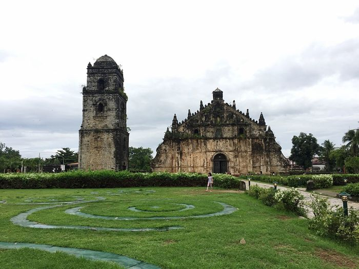 Paoay Church, Paoay, Ilocos Sur, Philippines Ilocos Norte, Philippines  Plant Sky History Travel Destinations