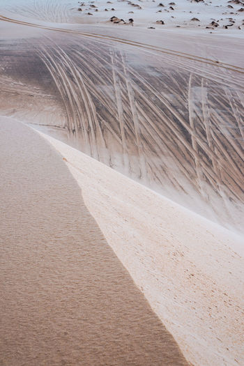 Sand No People Land Day Nature Outdoors Direction The Way Forward Environment High Angle View Landscape Tranquility Transportation Desert Pattern Tranquil Scene Beauty In Nature Arid Climate Dry Sand Dune Vietnam Travel Destinations Travel Imprints Tracks
