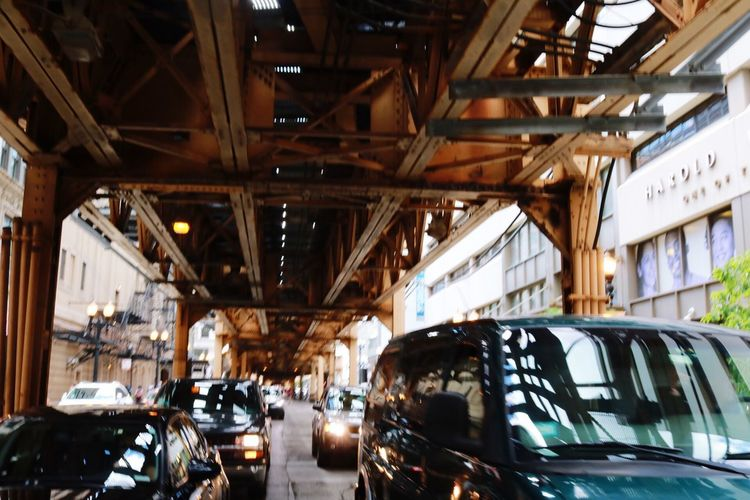Car Transportation Mode Of Transport Land Vehicle Stationary Indoors  Built Structure Day Illuminated Architecture No People Chicago EyeEmNewHere The Week On EyeEm