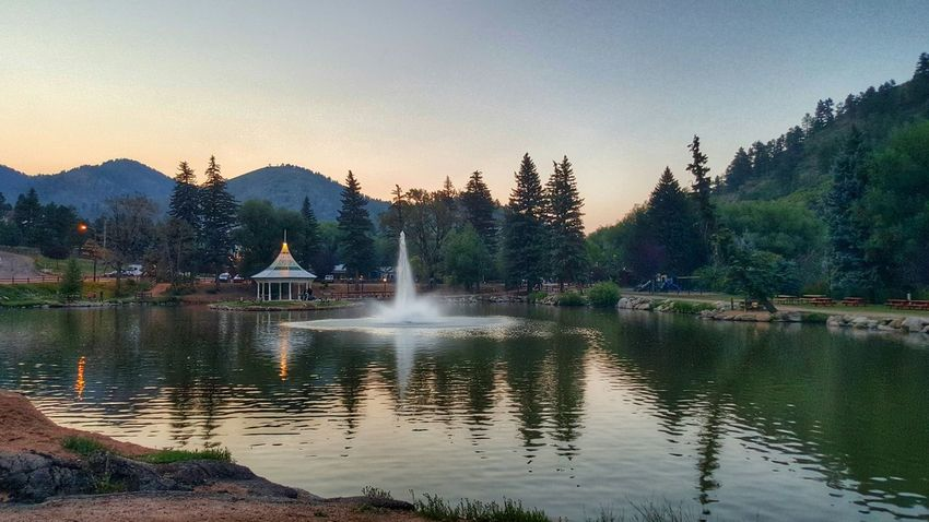 Colorado Mountains Lake Check This Out Water Water Reflections Gazebo Gazebo At The Park Samsung Galaxy S6 Edge Samsungphotography Enjoying Life Green Mountain Falls