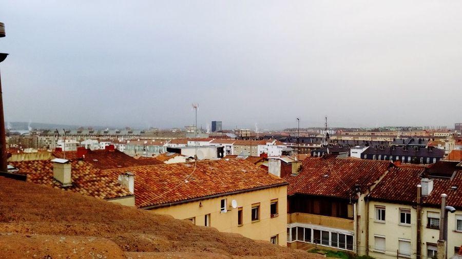 El tejado más elevado de Vitoria VitoriaGasteiz Green Capital City Cityscape Roof Sky Architecture Building Exterior Built Structure