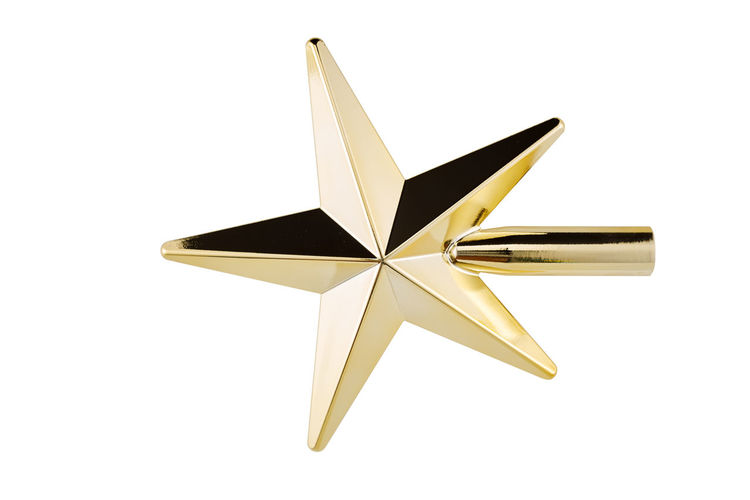 White Background Studio Shot Indoors  Star Shape No People Cut Out Shape Close-up Single Object Copy Space Still Life Design Shiny Decoration White Color High Angle View Art And Craft Group Of Objects Christmas Decoration Two Objects Silver Colored