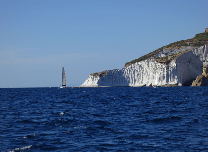 sailing in ponza Sea Water Waterfront Sky Scenics - Nature Beauty In Nature Clear Sky Blue Nature No People Day Tranquil Scene Horizon Tranquility Outdoors Rippled Horizon Over Water Idyllic Copy Space Iceberg Marine Melting My Best Photo