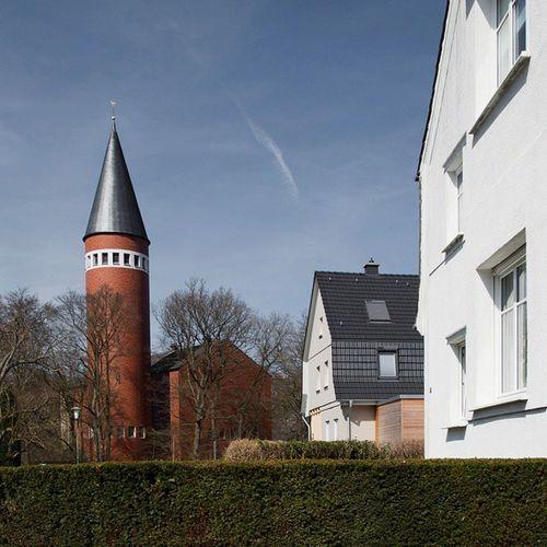 Latergram Hagen Hagenwestfalen Westfalen Emst Kirchenbau von Dominikus Böhm