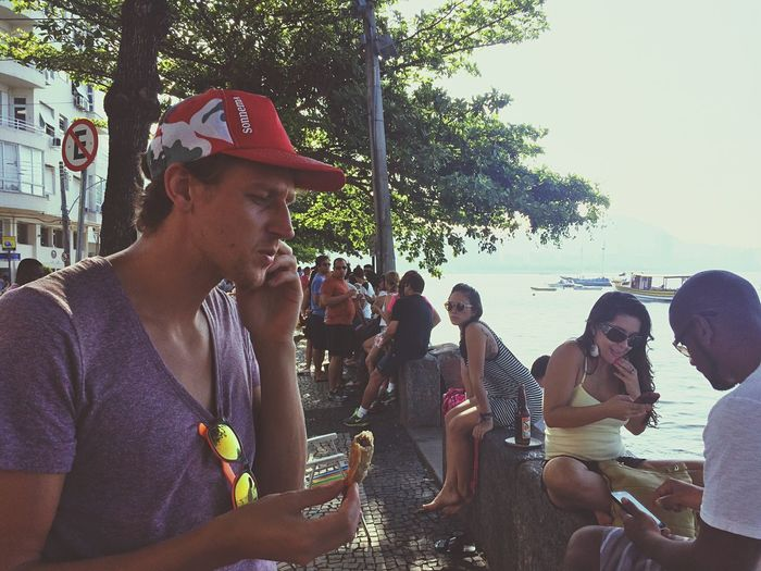 Riodejaneiro Calling Chilling Drinking Eating Snacks! Cerveja Beers