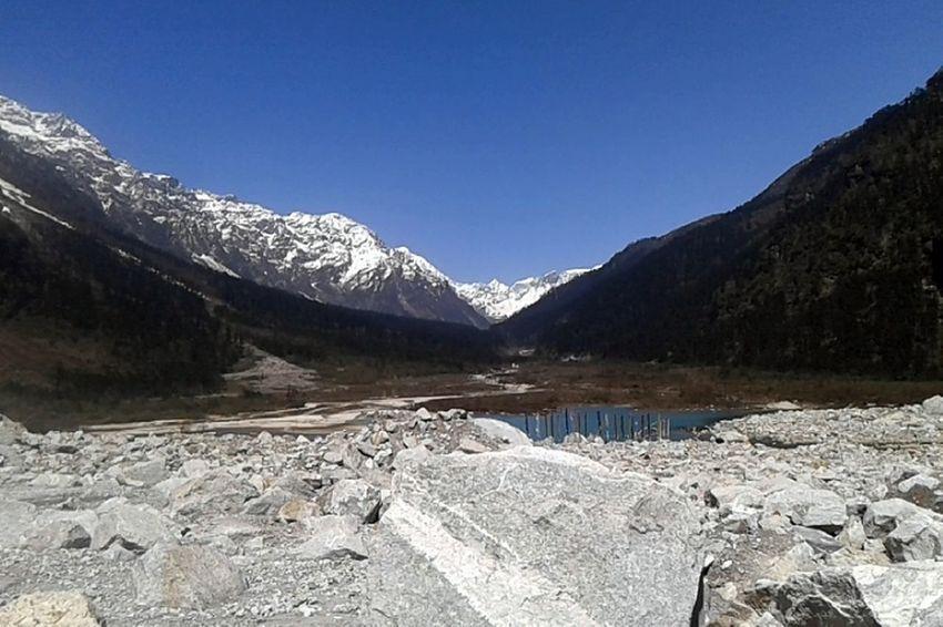 Yumthang Yumthang Valley Sikkim Mountains Snow Capped Mountains Snow Covered Mountains Lachung Lachung Valley Mountain River Mountains In Background Mountain Lake