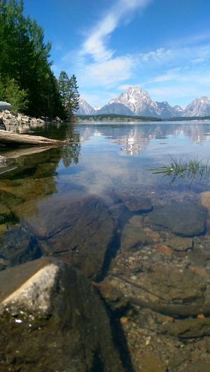 Tetons Nature Landscape Lake Reflection Grand Tetons Showcase March Kiomi Collection Blue Wave The Essence Of Summer The Great Outdoors With Adobe
