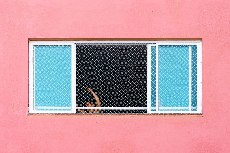 Colorful Simplicity Minimal Urban Geometry Minimalism Pink Color Geometry Woman Streetphotography Street Photography Lines And Shapes City Urban Citylife Window Built Structure Architecture Pattern Close-up Building Exterior Backgrounds Day Wall - Building Feature Shape Geometric Shape Full Frame Design Copy Space Frame The Portraitist - 2019 EyeEm Awards The Creative - 2019 EyeEm Awards The Minimalist - 2019 EyeEm Awards