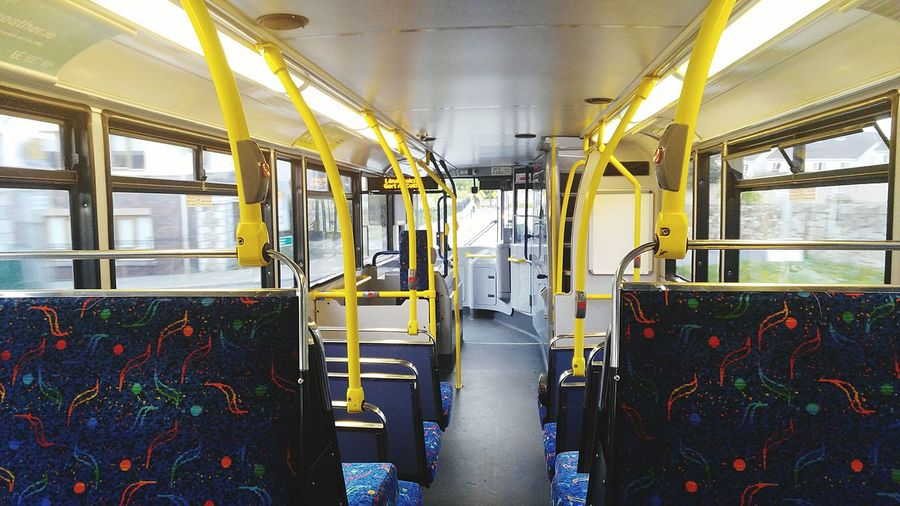 alone in the bus Subway Train Vehicle Seat Public Transportation Train - Vehicle Rail Transportation Vehicle Interior