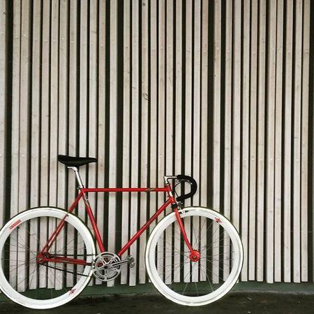Santas Cresent VM Pista 1984 ☺ Fixed Singlespeed Crecsent Oldsteel Pista MCB Bicycle Fahrrad Fauber Cycle Velo Rat