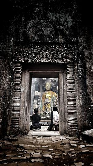 LAO Pakse Statue Temple - Building Architecture Ancient Architecture Temple Ancient Civilization Faith Believe Holy God Monk