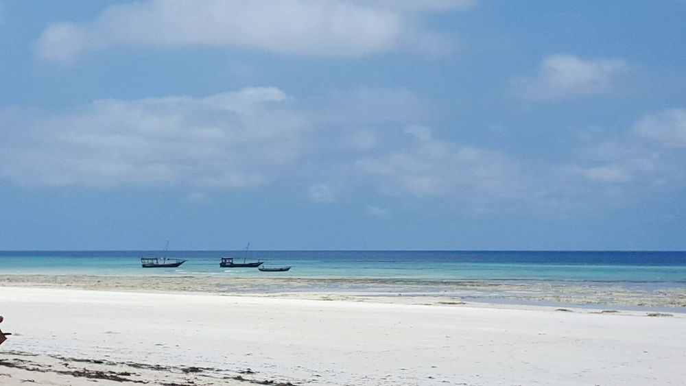 Zanzibar Sansibar Horizon Over Water Sea Water Beach Boat Beauty In Nature Ocean Beauty In Nature Eye4photography  Travel Eym Travel Photography EyeEm Nature Lover Nature Nature Photography