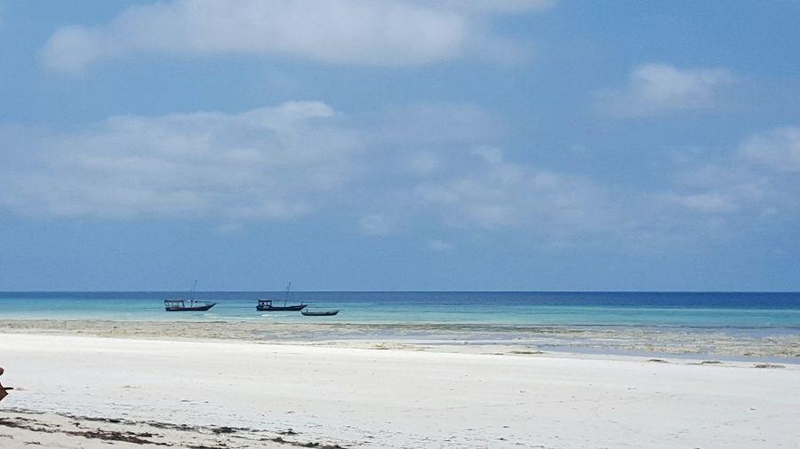 Zanzibar Sansibar Horizon Over Water Sea Water Beach Boat Beauty In Nature Ocean Beauty In Nature Eye4photography  Travel Eym Travel Photography EyeEm Nature Lover Nature Nature Photography
