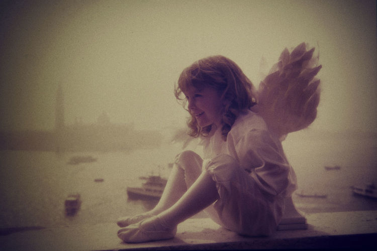 one angel is