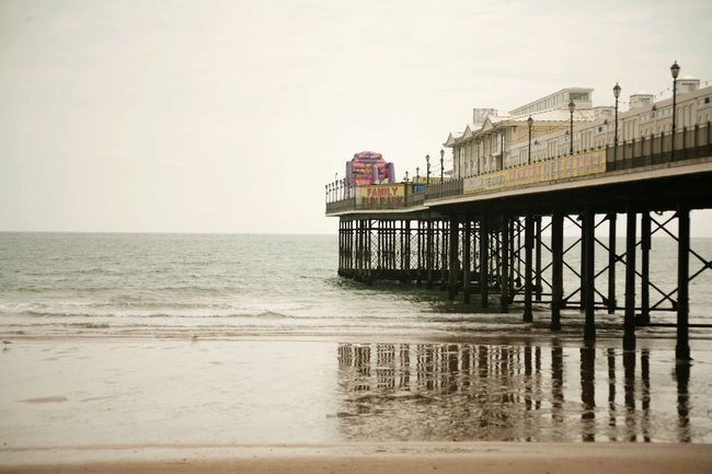 Pier Sea And Sky Water Reflections Lifes A Beach Beachphotography Water Paignton Beach Uk