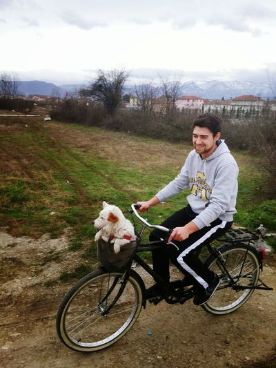 Ride A Bike  Hi! That's Me Hello World