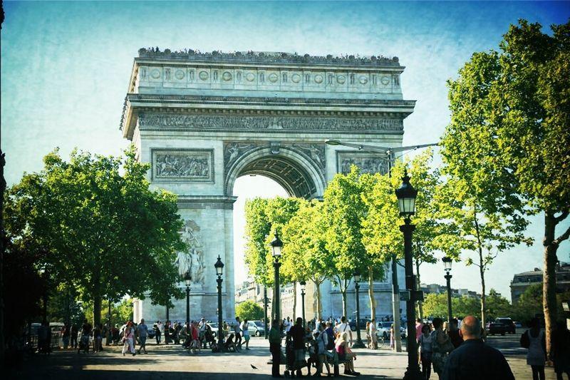 Paris Travelling Champs-Elysée Arc De Triomphe