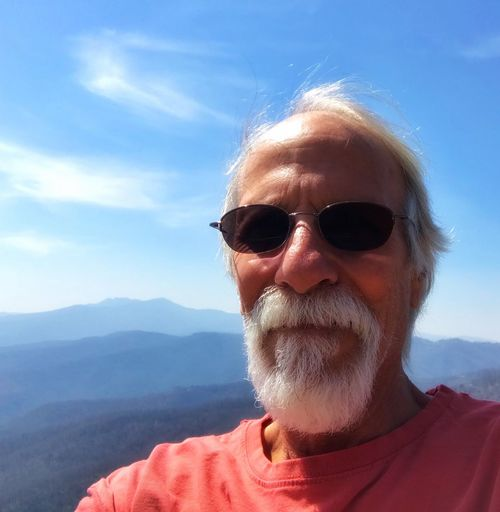 The old man and the mountains Selfie✌ Headshot Portrait One Person Real People Front View Sky Men