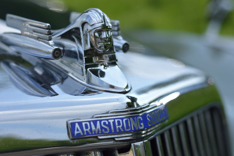 Armstrong Siddely classic vintage car in immaculate condition EyeEm Best Shots EyeEm Masterclass 50mm F1.8 Classic Car Nikon D3200 Armstrong Siddeley Car Chrome Day Focus On Foreground Land Vehicle Metal Mode Of Transportation Motor Vehicle Nature No People Outdoors Silver Colored Transportation Vintage Cars Vintage Car Collector's Car