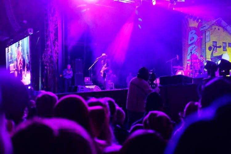 Show Concert Nightphotography Night Photography Telluride Colorado Gary Clark Jr. Fujifilm FUJIFILM X100S Blues