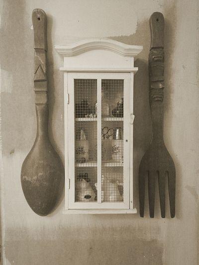 Homedecor Decor Silverware  Woodwork  Spoons Forks Walls Walldecoration Nicknack