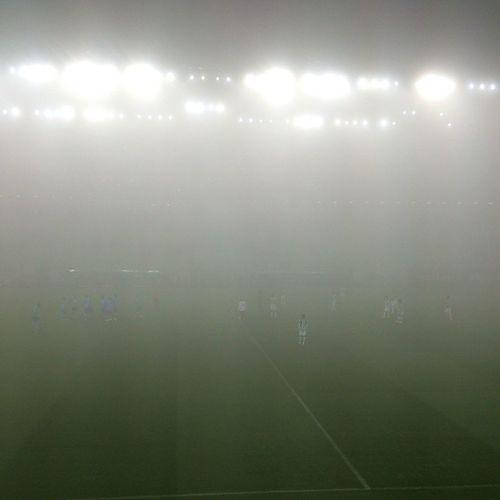 Majdnem ideális körülmények között rendezik a meccset :-D Fog Match Football FTC  Ferencváros Hajrafradi Groupamaarena Fradi Fradivspaks