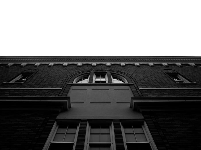 Building Exterior City Architecture Sky Building Clear Sky Outdoors City Tampa Black And White