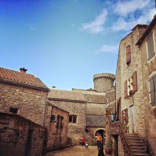 Saint-cirq-lapopie Villagemedieval Lot Midi-Pyrenees History Moyen âge