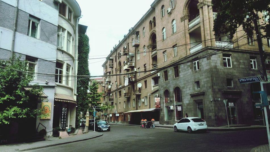 Street Yerevan Morning Cafe