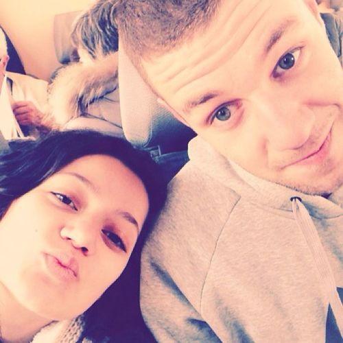бебета във влака ??❤️