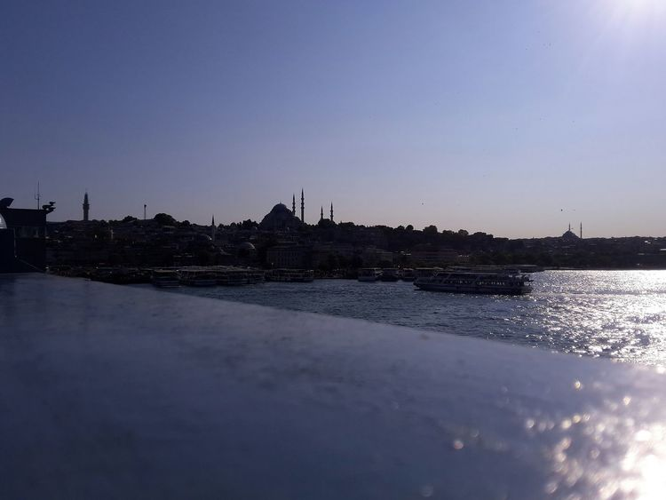 Istanbul Historical Building Ottoman Empire Ottoman Architecture Mosque Istanbul Mosque Sea Istabul, Turkey Historic Building History Travelphotography Travel Bluesky Art My Project Hi Sky Reflection Night Water No People City Outdoors Cityscape Clear Sky