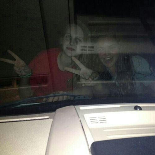 Riding On Car Hoods:)