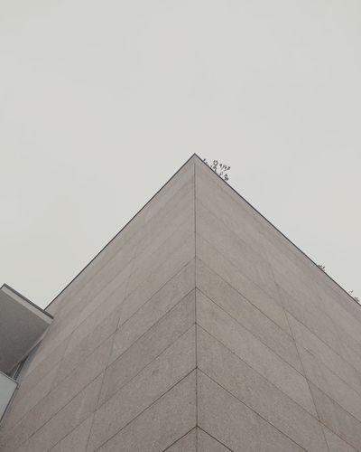 Granite facade.