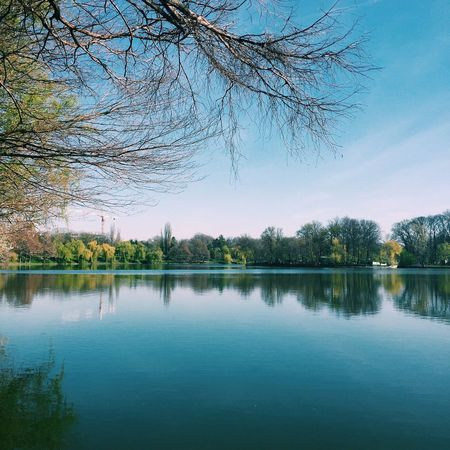 Let's Enjoybucharest ! VSCO Cam Vscocam Vscogood IPhoneography Park Nature Lake