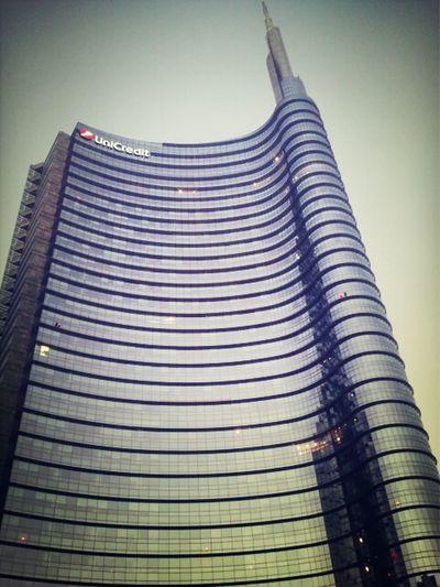 Pelli Tower Cesarpelli Milanoportanuova
